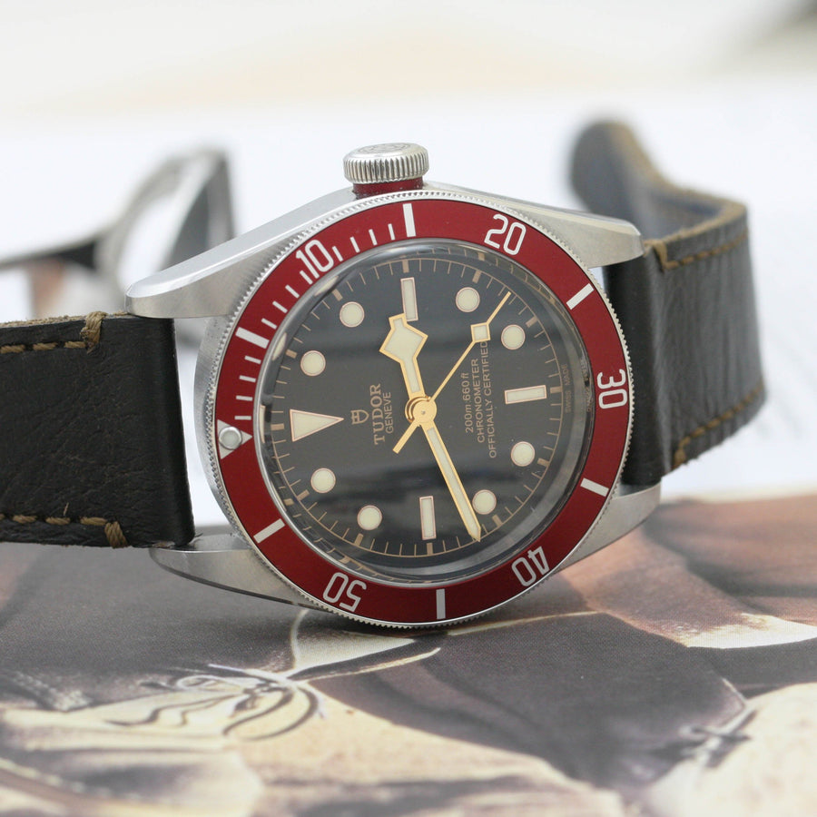 Tudor Heritage Black Bay Red Bezel - Subdial