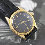 Tudor Prince Oysterdate Gold, Black Waffle Dial 1950's - Subdial