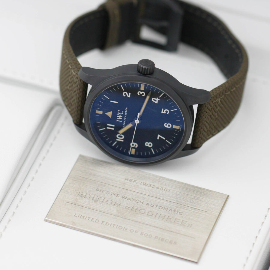 "WC Pilot's Watch Mark XVIII Edition ""HODINKEE"" IW324801 2019 - Subdial"