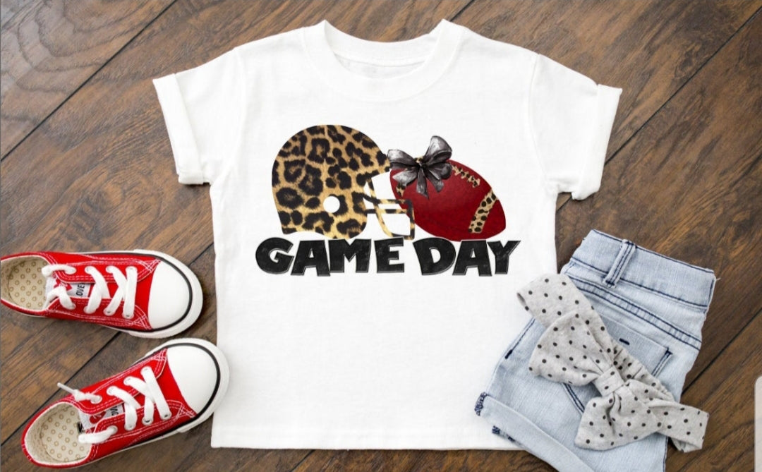Football Game Day Youth Tee