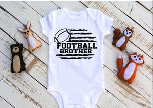 Football Brother Onesie