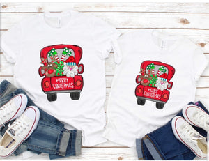 Merry Christmas Matching Tees