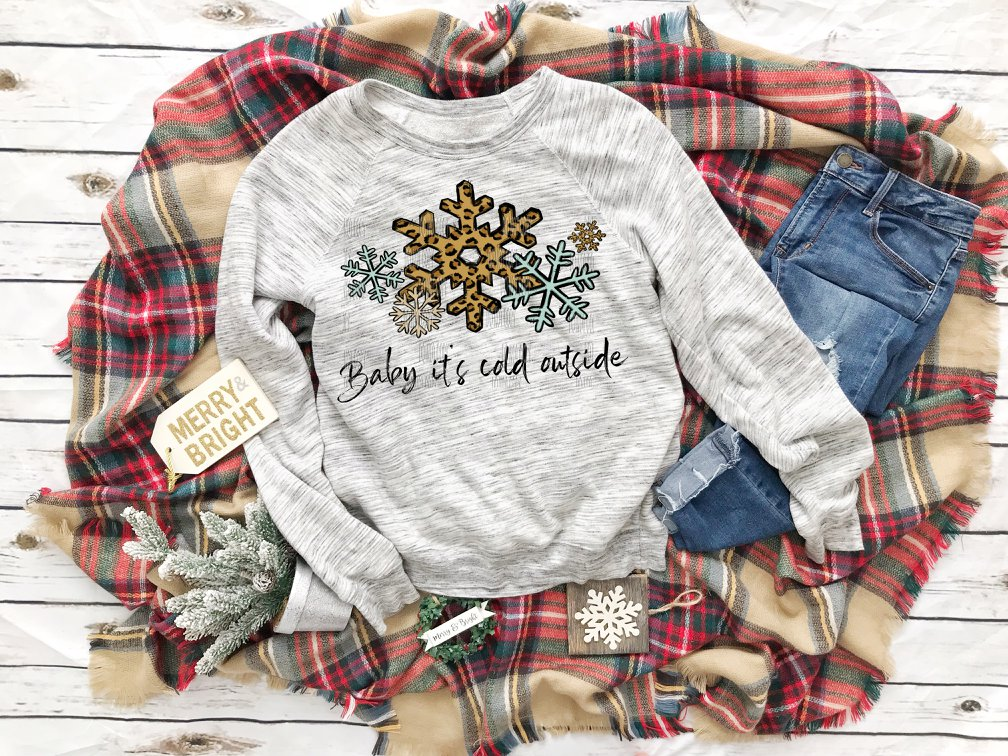 Baby It's Cold Outside Christmas Sweater Winter Sweater