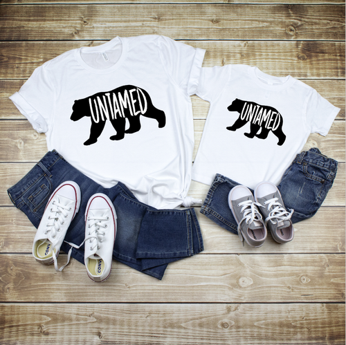 Untamed Family Outdoor Matching Tees