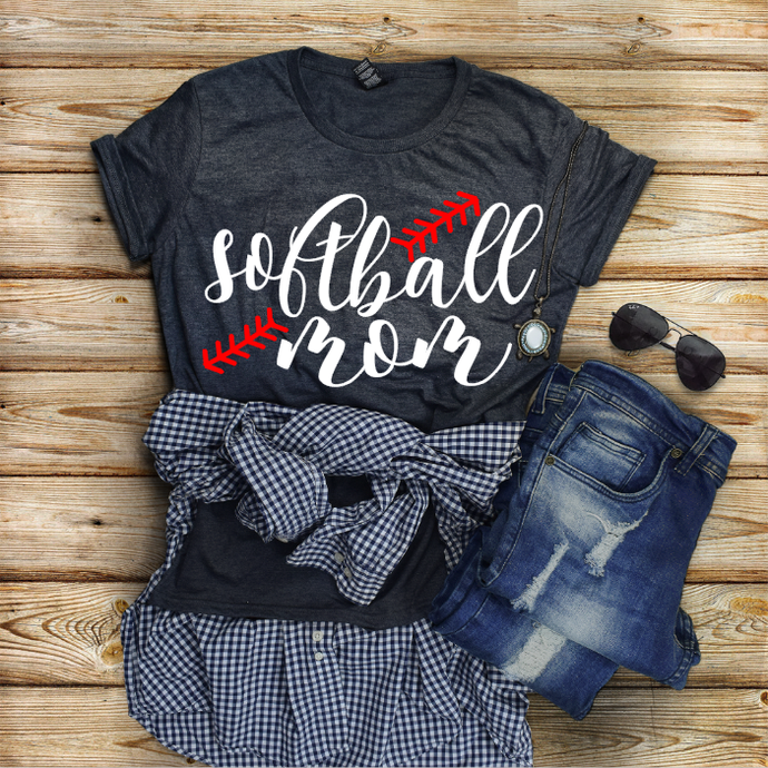 Softball Mom Personalized Shirt
