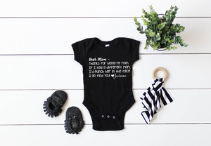 Best Mom Ever Personalized Onesie, Mother's Day Onesies, Mothers Day Humor