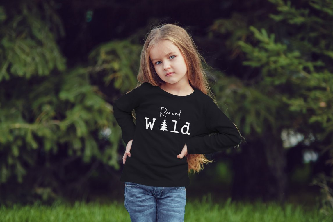 Raised Wild Girls Youth Outdoor Shirt