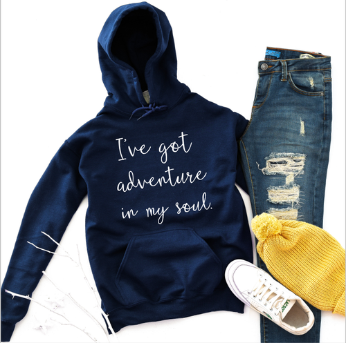 I've got adventure in my soul, adventure womens shirts, gypsy women, spirtual apparel, outdoor apparel