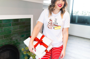 Tis The Season Little Debbie Tee