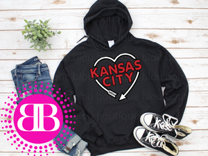 Kansas City Arrow Heart