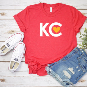 Kansas City Red Heart