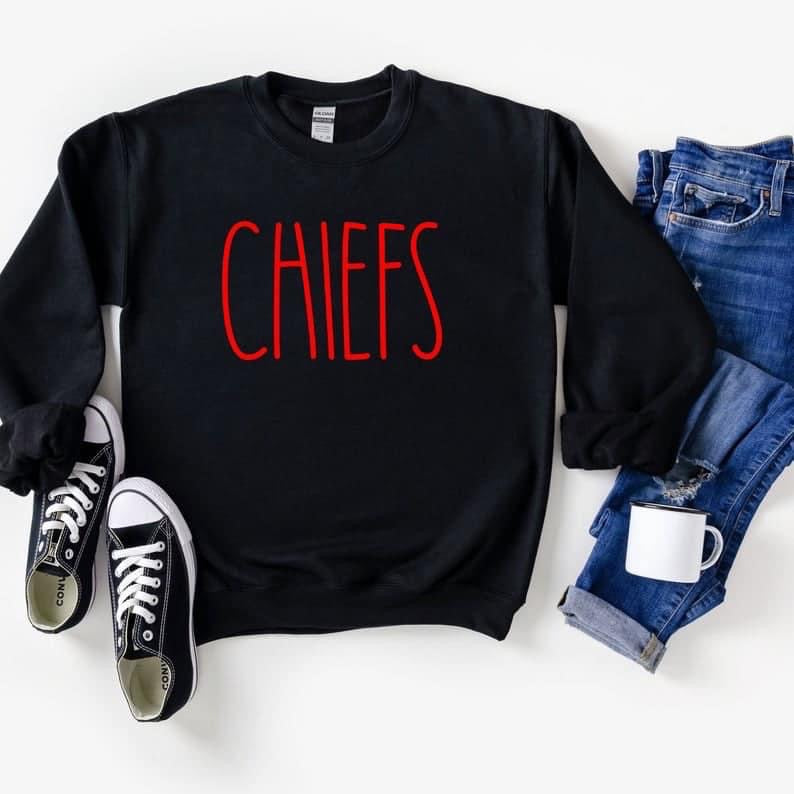 Chiefs Black Sweatshirt