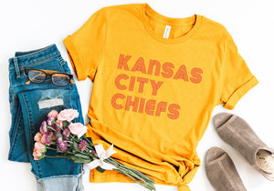Kansas City Chiefs Yellow