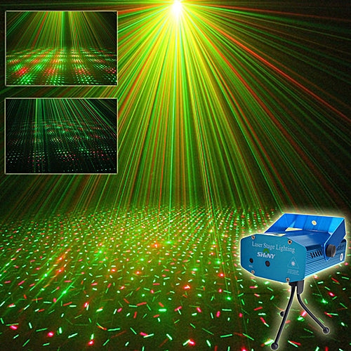 Mini Adjustment LED Laser Projector Stage Lighting For Party