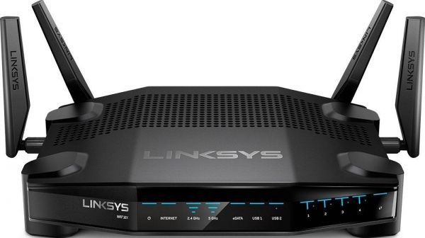 Linksys WRT32X AC3200 Dual-Band Wi-Fi Gaming Router With Killer Prioritization Engine, Black
