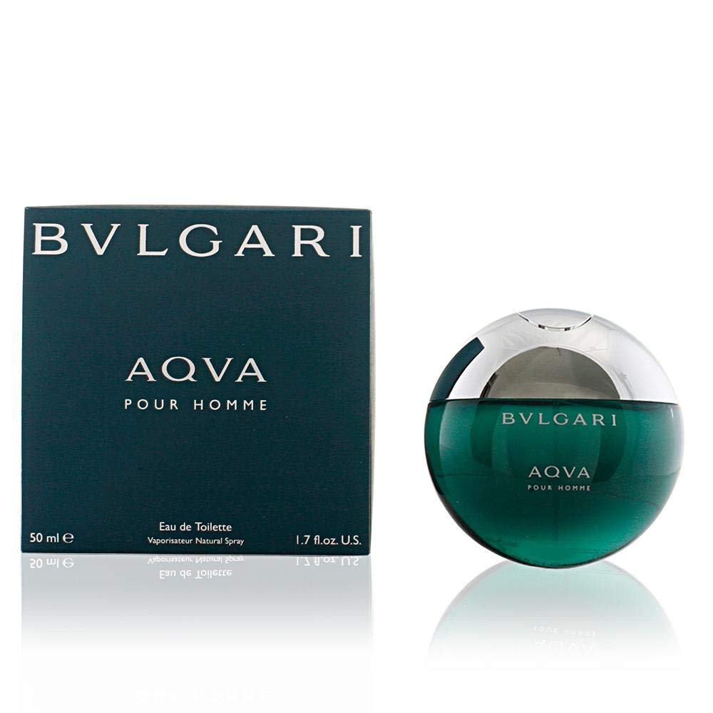 Aqva Pour Homme by Bvlgari for Men - Eau de Toilette, 100ml