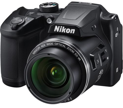 Nikon COOLPIX B500 Compact Camera, Black