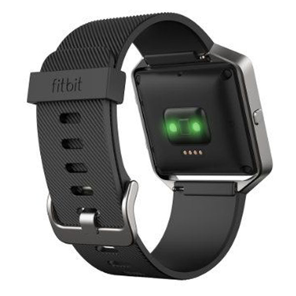 Fitbit Blaze Smart Fitness Watch, Black/Silver - Small
