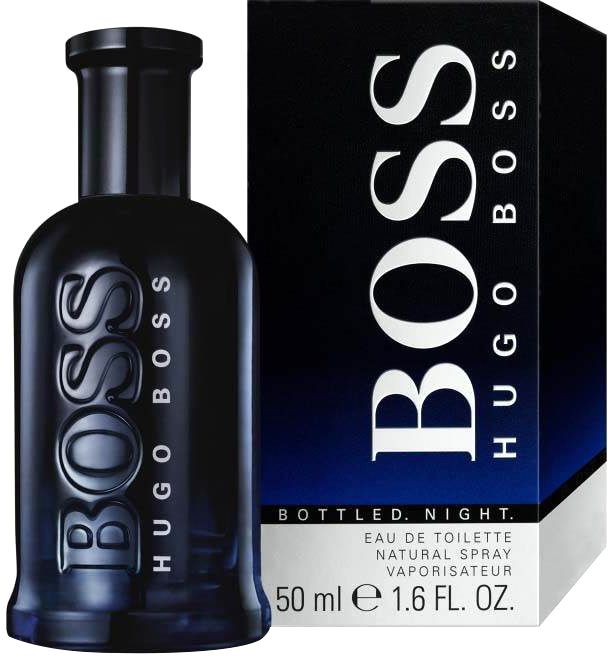 Boss Bottled Night by Hugo Boss for Men - Eau de Toilette, 50ml