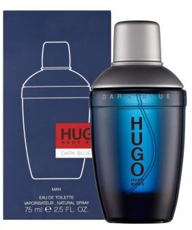 Boss Dark Blue by Hugo Boss for Men - Eau de Toilette, 75ml