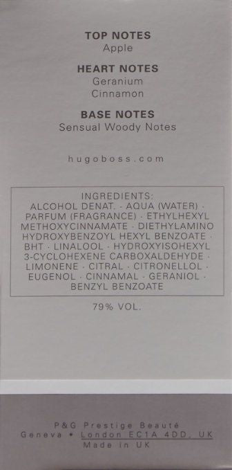 Bottled by Hugo Boss for Men - Eau de Toilette, 100ml