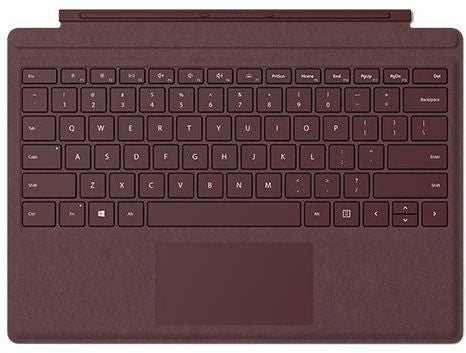 Microsoft Surface Pro Signature Type Keyboard (Burgundy)