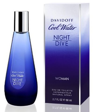 Davidoff Cool Water Night Dive Women - 80ML
