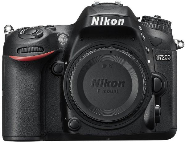 Nikon D7200 - 24.4 MP Body DSLR Camera, Black