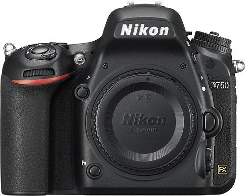 Nikon D750 Body Only - 24.3 MP, SLR Camera, Black