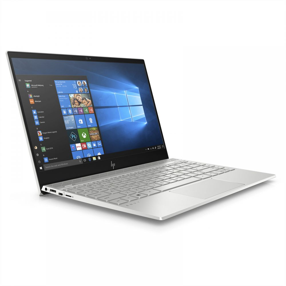 "HP ENVY 13-AH0002NE- 4MX01EA Sliver (CORE i7  8550U , 8GB, 256SSD,13.3""FHD, WIN 10 )"
