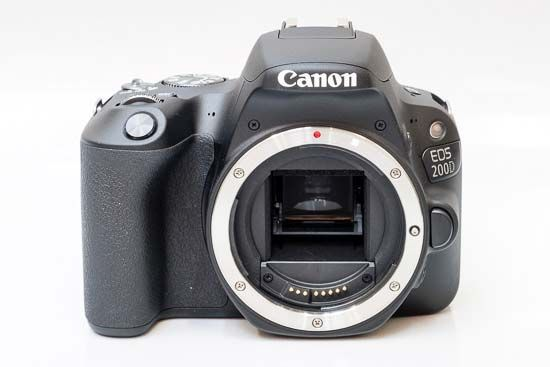 Canon EOS 200D EF-S 18-55mm  STM- 24.2 MP, DSLR Camera, Black