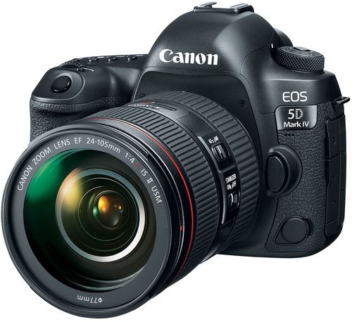 Canon EOS 5D Mark IV 24-105mm Lens