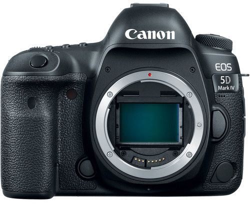 Canon EOS 5D Mark IV Body Only - 30.4MP, DSLR Camera, Black