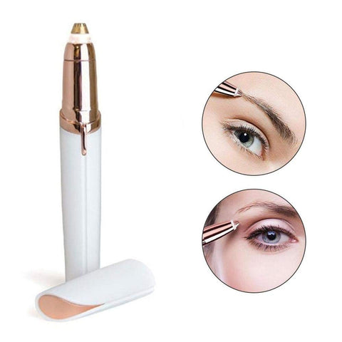 Flawless Instant and Painless Eyebrow Hair Trimmer