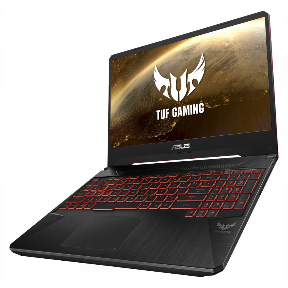 Asus TUF Gaming FX505GM-ES085T Laptop Black (Intel Core i7-8750H, 16GB,1TB+256G, 15.6 FHD,6 GB DEDICATED NVIDIA GEFORCE GTX 1060/WIN10