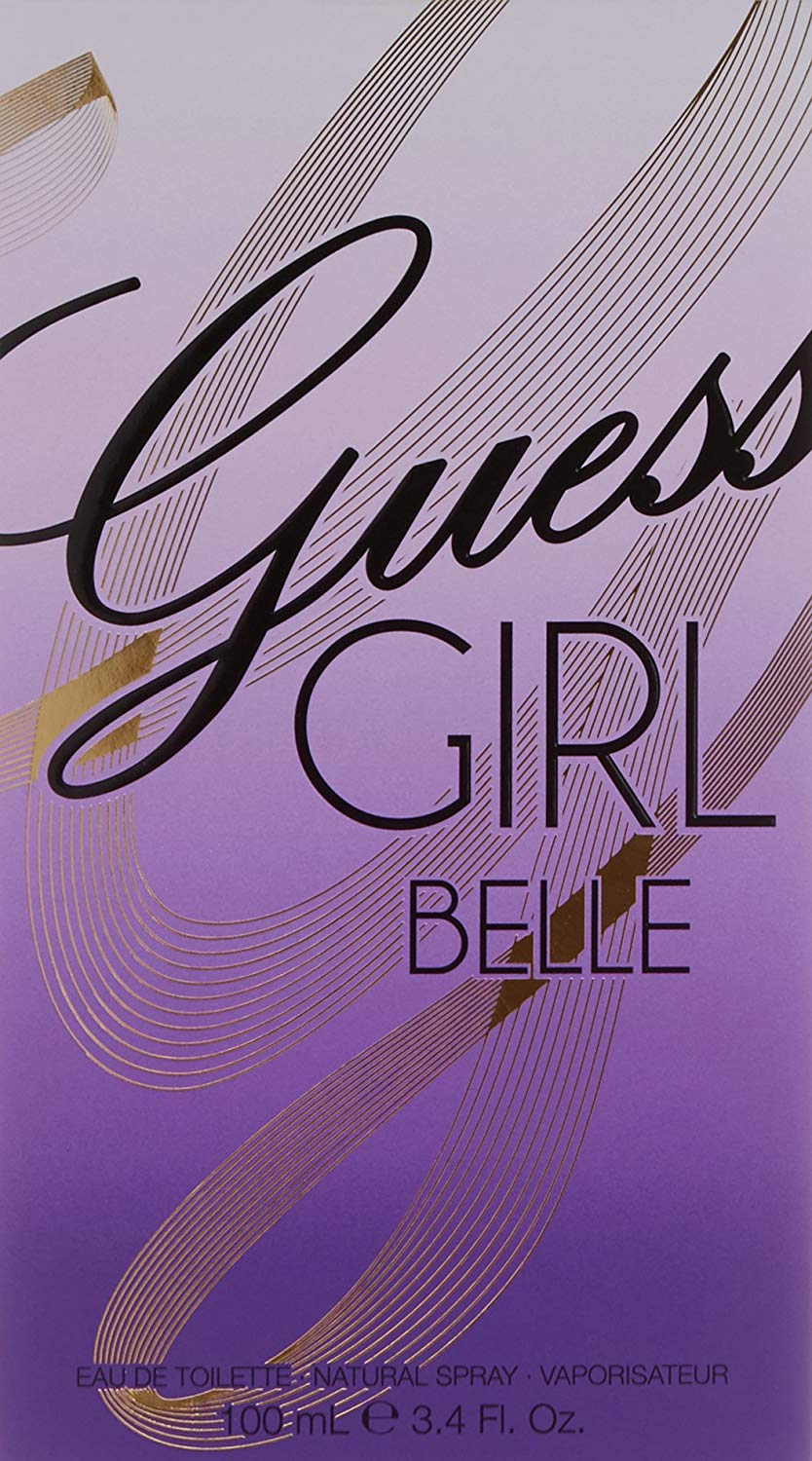 Guess Girl Belle for Women, 3.4 oz EDT Spray
