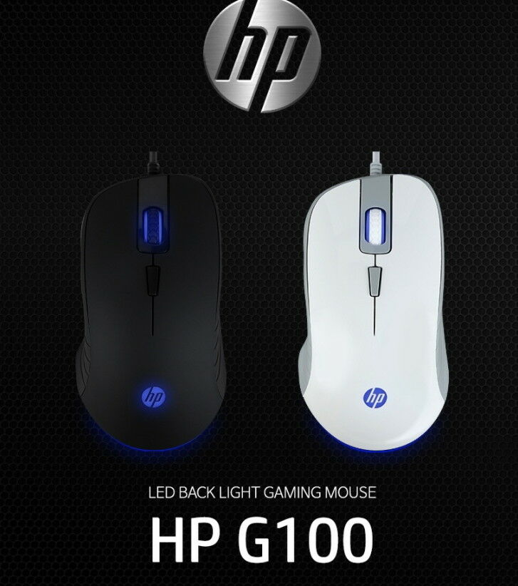 HP G100 USB Gaming Mouse with 2000 dpi Adjustable