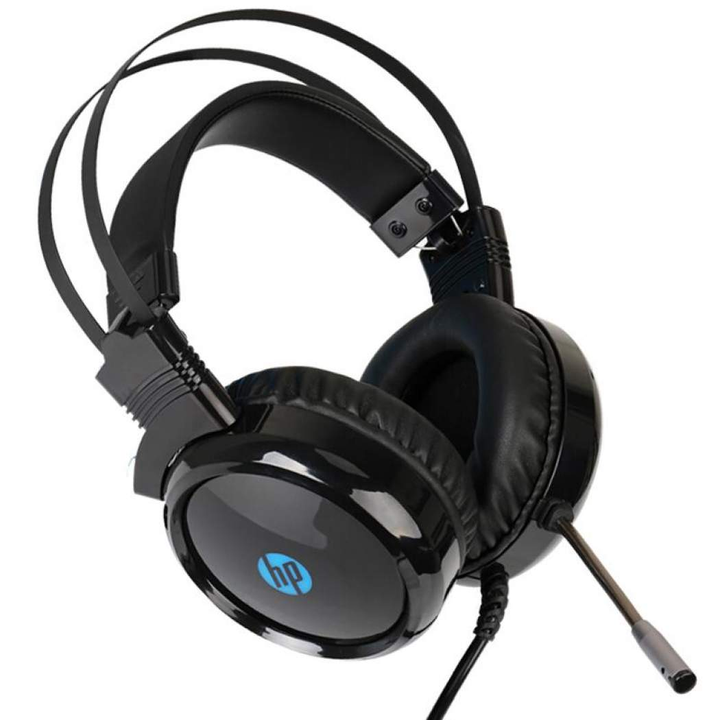 HP H120 USB Gaming Headset with Backlit (Black)