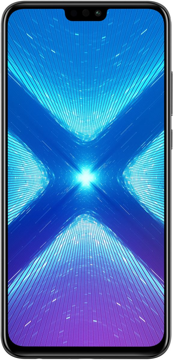 Honor 8X Dual SIM - 128GB, 4GB RAM, 4G LTE, Black
