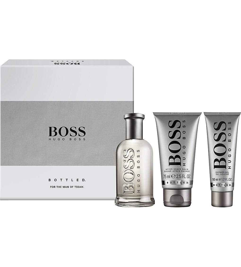 Hugo Boss Bottled No.6 For Men 3 Pieces Gift Set