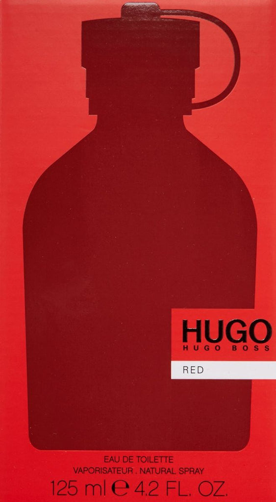 Hugo Red by Hugo Boss for Men - Eau de Toilette, 150ml