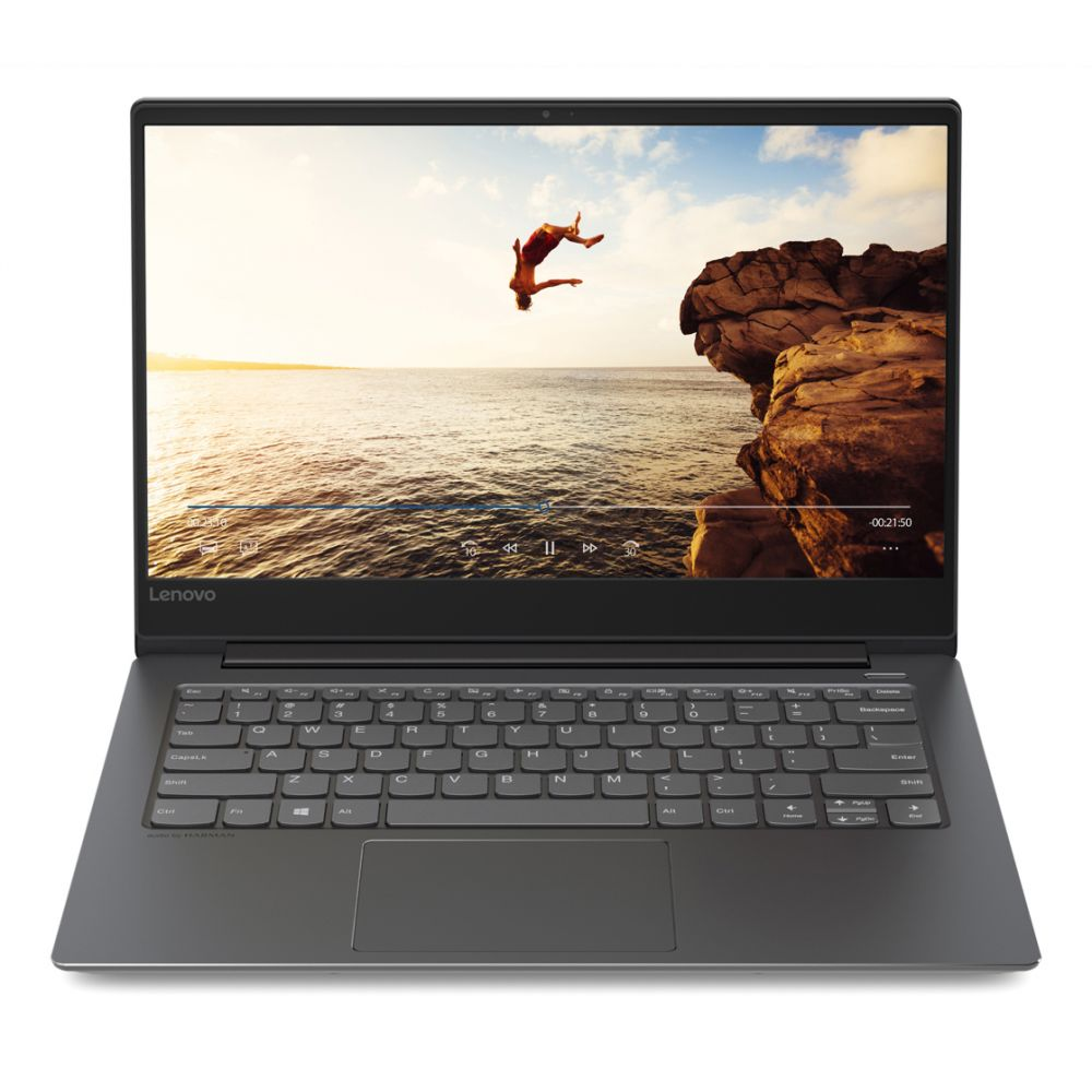 "IdeaPad 530s Laptop Black (CORE i7  8550U, 8GB,	256SSD, 14""HD, WIN 10)"