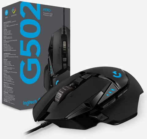 LOGITECH  G502-HERO | RGB High Performance Gaming Mouse