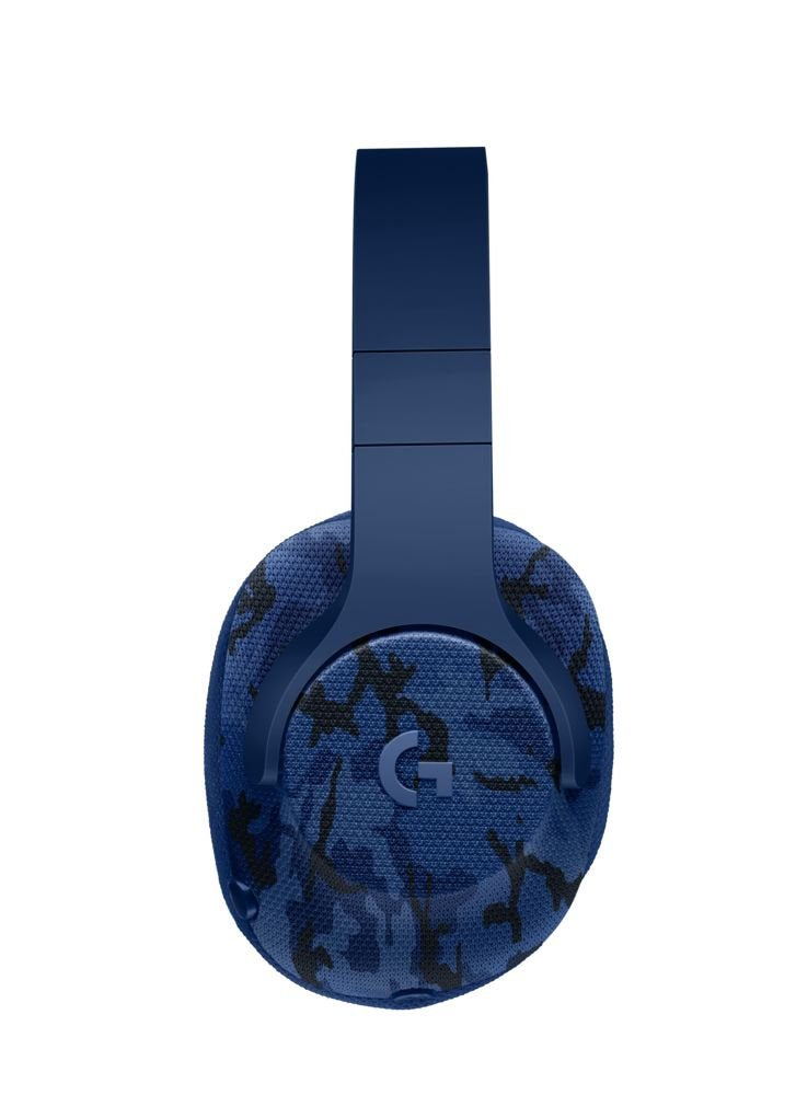 Logitech 7.1 Surround Gaming Headset, Blue Camo - G433