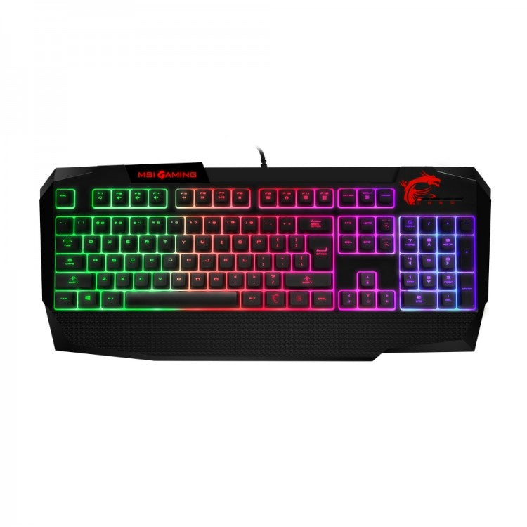 MSI Vigor GK40 Gming Keyboard with MSI Gaming Mouse Pad XL