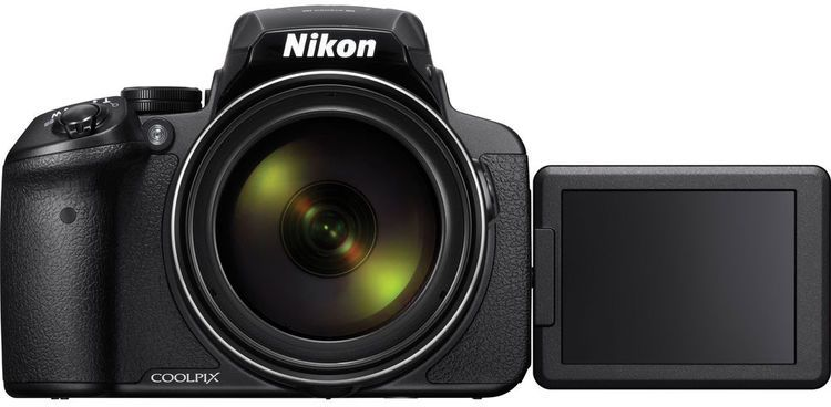 Nikon Coolpix P900 -16 MP, Point and Shoot Camera, Black