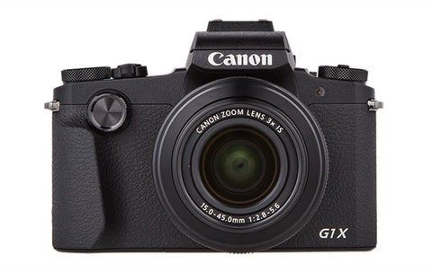 Canon Powershot G1 X Mark III, 24.2 MP, Compact Camera - Black