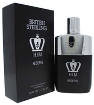 BRITISH STERLING HIM RESERVE 3.8 FL OZ EDT SPR - 110ML