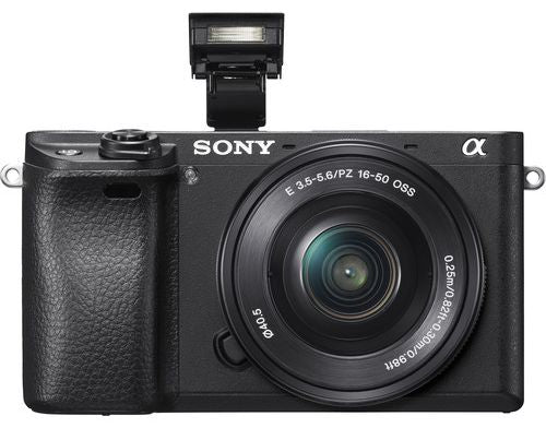 Sony Alpha a6300 with 16-50mm Lens, Mirrorless Digital Camera, Black