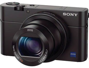Sony Cyber-shot RX100 III - 20.1 Megapixels, Point & Shoot Camera, Black